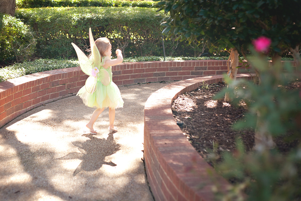 "My little ""free spirit"" middle child. Doing her own thing."