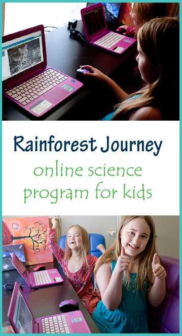 Rainforest Journey by EdTechLens | A Review by Running With Spears #HSReview #EdTechlens #OnlineScienceResource #InteractiveScience #homeschool