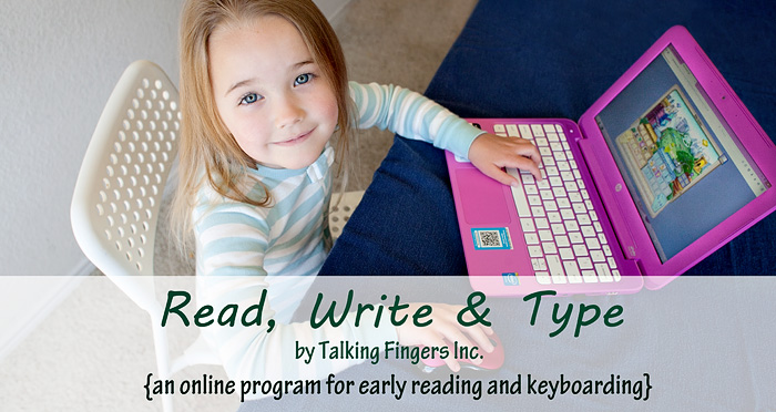 Read, Write & Type - an online reading program for kids ages 6-9 that incorporates typing instruction into the learning to read process. | A review by Running With Spears #phonics #reading #keyboarding