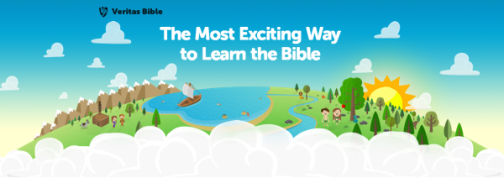 Bible Curriculum from Veritas Press | A review by Running With Spears #onlinebible