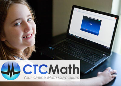 Online Math Curriculum | Review by Running With Spears #homeschoolmath #onlinemath