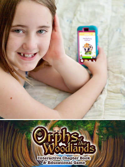 Orphs of the Woodlands at Tanglegate - Learning app so fun my kids beg to play! | Review by Running WIth Spears #summerreading #kidsread
