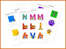 early education printables from HelpTeaching.com | Review by Running With Spears #printables