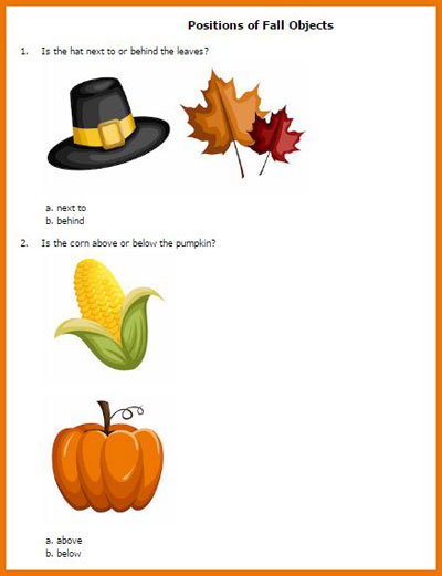 Fall printables from HelpTeaching.com | Review by Running With Spears #printableworksheets