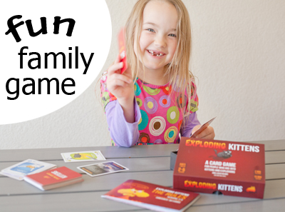 Games to play with the whole family that are ACTUALLY fun for everyone!   Running With Spears