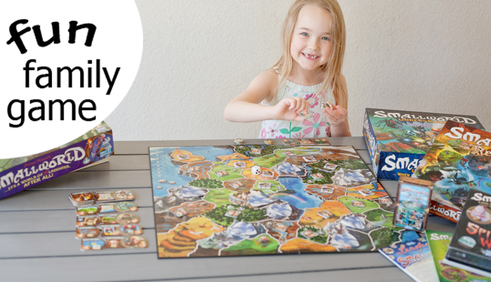 Games to play with the whole family that are ACTUALLY fun for everyone! Small World! | Running With Spears #familytime