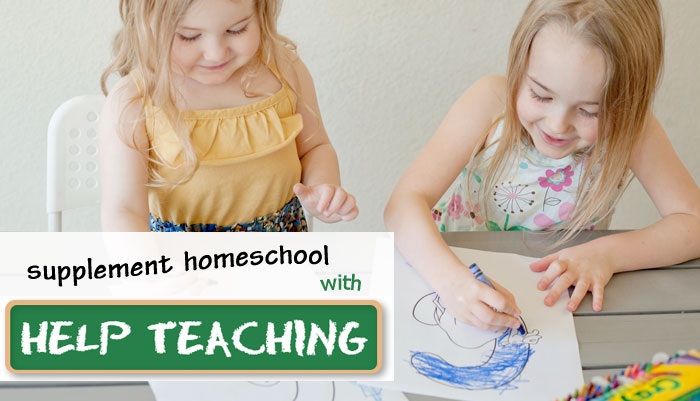 Supplementing Homeschool studies with HelpTeaching.com | Review by Running With Spears #printables #printableworksheets
