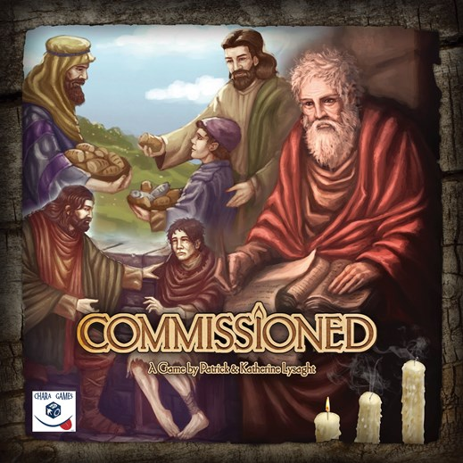 Fun family game with a Christian theme - Commissioned, tabletop, strategy, cooperative historical game! Great for using with your homeschool study of the early church! | Running With Spears #ChristianBoardGames #StrategyGames