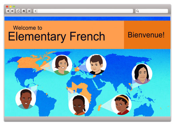 elementary french 1 grades 3-5