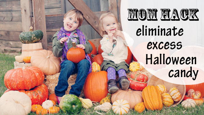 Mom Hack - get rid of your kids' excess Halloween candy with a visit from the Great Pumpkin. :) | Running With Spears #momhack #halloween