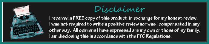 disclaimer mine