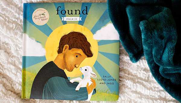 Found tells the story of the twenty-third Psalm in a way that engages even the littlest of kids. The adorable illustrations of a little lamb and its shepherd are perfect for keeping wiggly toddlers engaged, and the short and sweet story carries a big message about God's great love for us! | Review by Running With Spears @Zonderkidz #zonderkidz