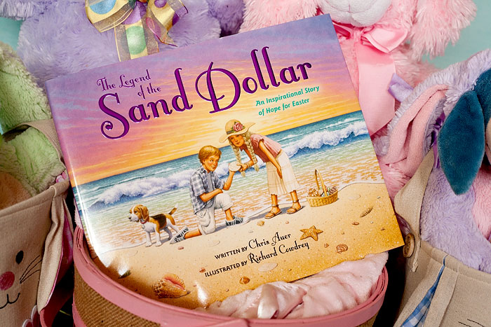 The Legend Of The Sand Dollar - An Inspirational Story of Hope for Easter | Review of free copy by Running With Spears #easterbook #sanddollar #kidsbook #easter #zonderkidz