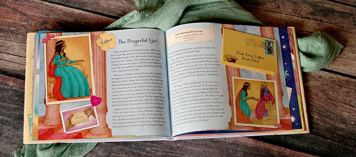 Love Letters from God: Bible Stories for a Girl's Heart --- This is a book every little girl should have in her library. | Review by Running With Spears #zonderkidz #godsgirls