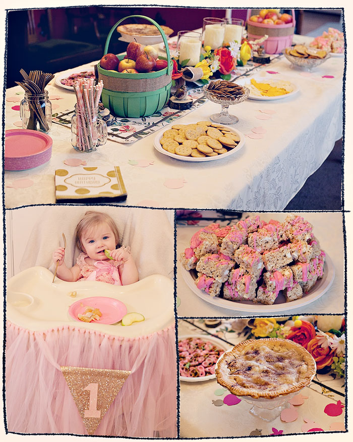 Apple Pie First Birthday Party