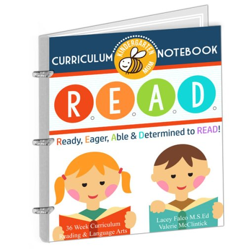 We love the Learn to R.E.A.D. Curriculum Notebook from The Crafty Classroom- A Kindergarten language arts curriculum for Beginning Readers | Review by Running With Spears #CraftyClassroom #LearntoRead #HomeschoolCurriculum
