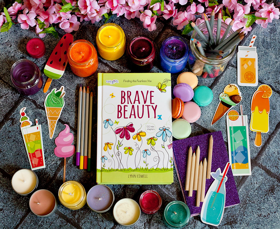 My ten year old has just reached the age where she's wanting to do devotionals on her own, so I was thrilled to receive a free copy of Brave Beauty Finding The Fearless You from Zonderkidz to review.  | Running With Spears #faithgirlz #tweendevotionals #zonderkidz