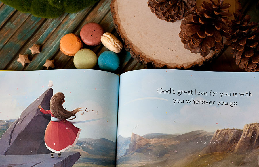 """God's Great Love For You"" is a heartwarming, whimsically illustrated children's story that will be cherished for years to come. 